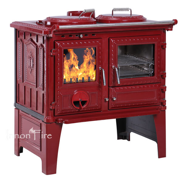 InnonFire Cook Stove S304 red